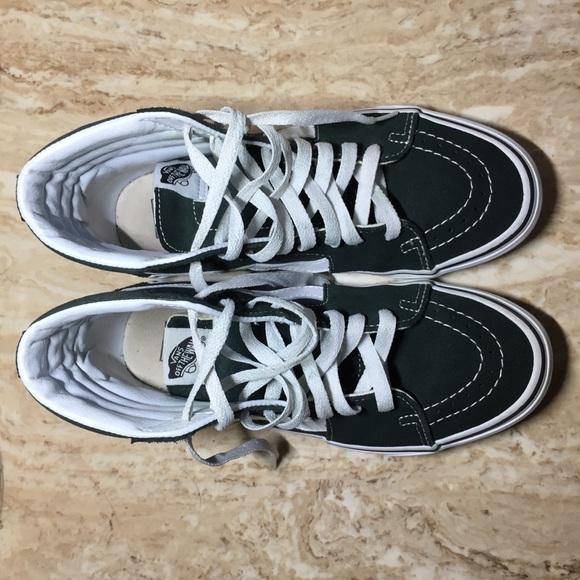 72268feca48 Vans Shoes - SK8-HI SCARAB GREEN VANS